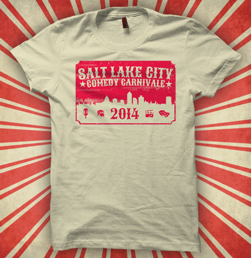 Salt Lake Comedy Festival Shirt